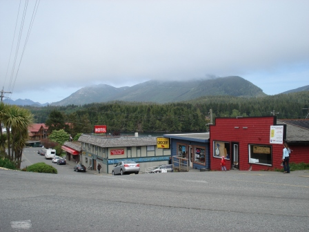 Main Street, Ucluelet, West Vancouver Island