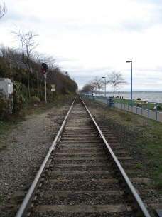 Train tracks, White Rock, BC