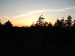 Sunset, Queen Elizabeth Park, Vancouver, BC Canada