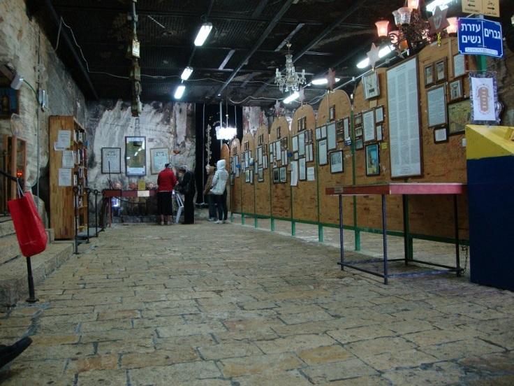 Inside Elijah's Cave