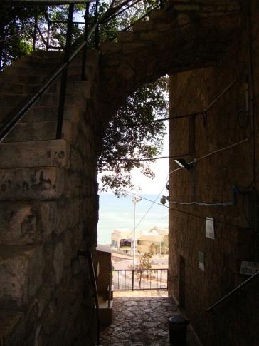 Leaving Elijah's Cave
