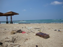 Haifa's polluted beach