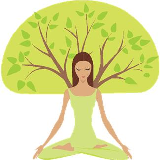 I am a smirking yoga tree. Of course. (photo source)