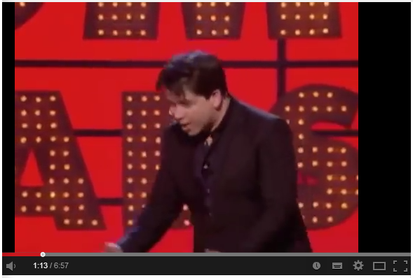 Michael McIntyre about parenting. Click to watch the video.