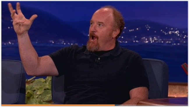 louis c.k. about cell phones