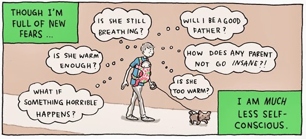 Grand Snider created this beautiful, sweet comic about what it's like being a parent.