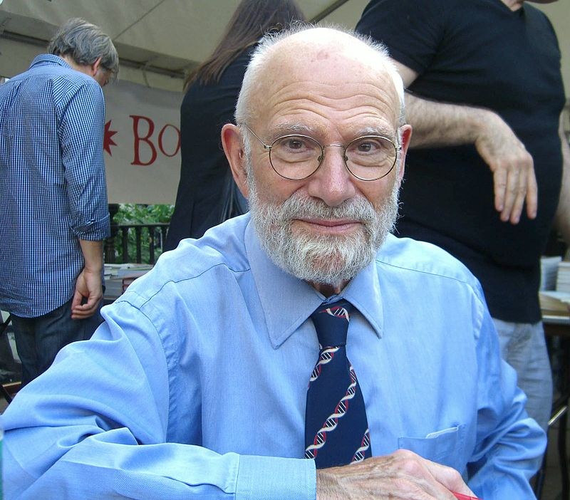 © Luigi Novi / Wikimedia Commons  https://commons.wikimedia.org/wiki/Category:Oliver_Sacks#/media/File:9.13.09OliverSacksByLuigiNovi.jpg