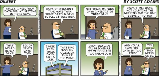 the ridiculousness of deadlines september 2015